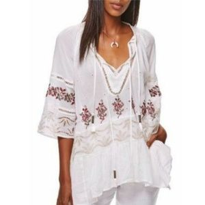 Free People Women 'You're Mine' Peasant Tunic